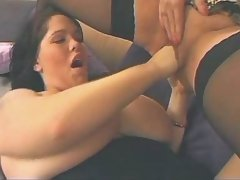 Torrid ebony bbw handles tough dick