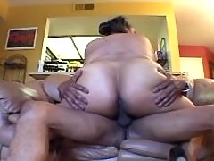 Hot black BBW gets cumload in mouth