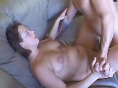Lustful plumper fucks and gets cum